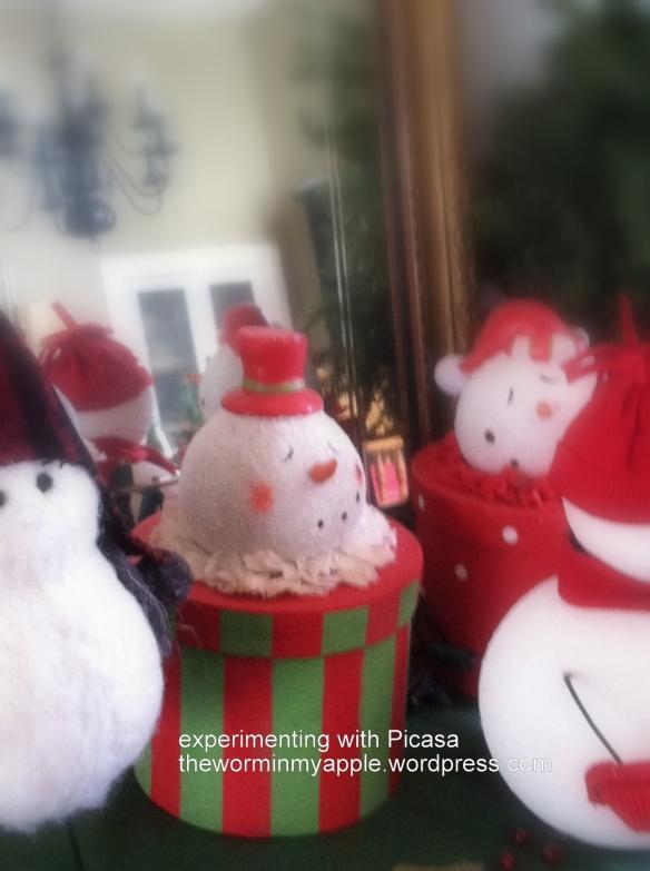snowman experiment