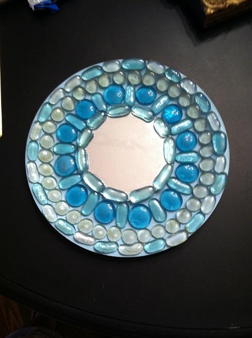 finished mirror/DIY, Dollar Tree, Craft
